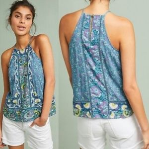 NWT Anthropologie Akemi + Kin Melina Blue Top